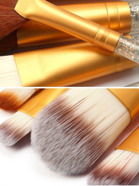 latest 15Pcs Glitter Powder Makeup Brushes - MULTI-A  Mobile