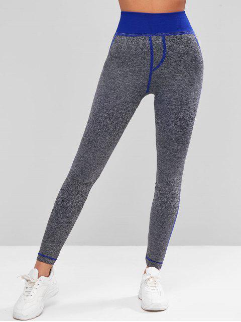 對比Heathered體育護腿 - 深藍 L Mobile