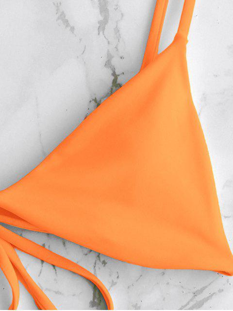 ZAFUL С чашками Бикини Купальник - Темно-оранжевый M Mobile