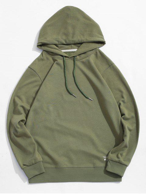 Carta cordón Estampado con capucha - Verde de Mar  M Mobile