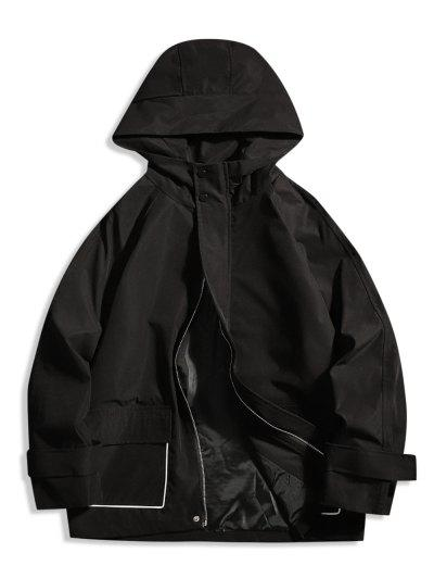 Image of Hooded Zip Up Jacket