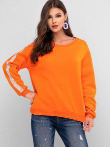 Rhinestone Drop Shoulder Sweatshirt