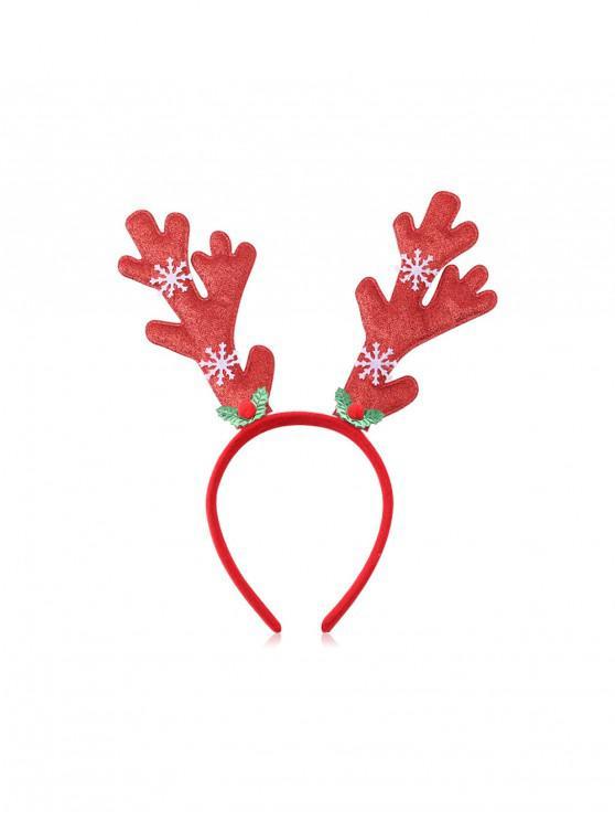 Bande de Cheveux Arbre de Noël et Wapiti à Paillettes - Multi-F