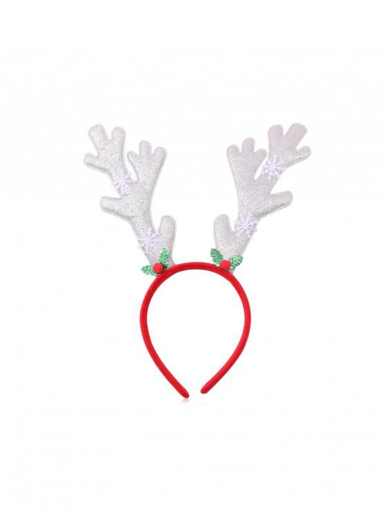 Bradul de Crăciun Elk Sequin hairband - Multi-G
