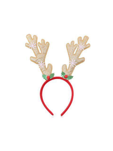 trendy Christmas Tree Elk Sequin Hairband - MULTI-H  Mobile