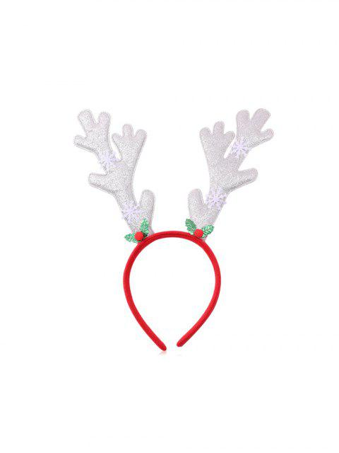 lady Christmas Tree Elk Sequin Hairband - MULTI-G  Mobile