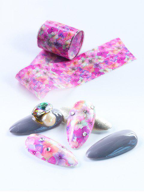 Décoration d'Ongles Motif de Fleur 10 Pièces - Multi-A  Mobile