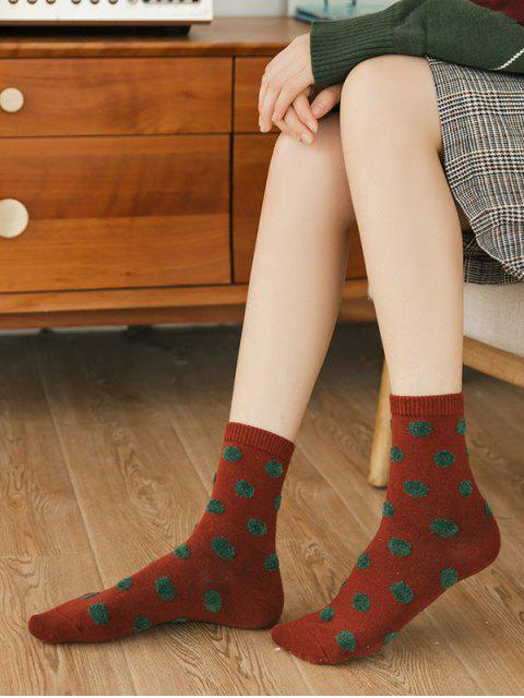 affordable 6 Pairs Polka Dot Pattern Socks Set - MULTI-A  Mobile