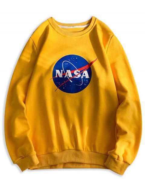 Carta del patrón gráfico ocasional de la camiseta - Amarillo Brillante XS Mobile
