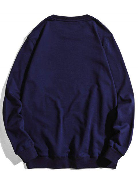 Carta del patrón gráfico ocasional de la camiseta - Cadetblue XL Mobile