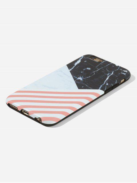 Cas de Téléphone Marbré pour IPhone - Nuit 6/6s Mobile