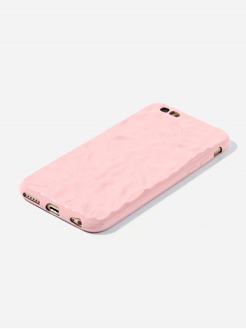 Cas de Téléphone Vague Design pour IPhone - Rose Léger  6/6s Mobile