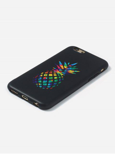 buy Pineapple TPU Phone Case For IPhone - BLACK 6/6S Mobile