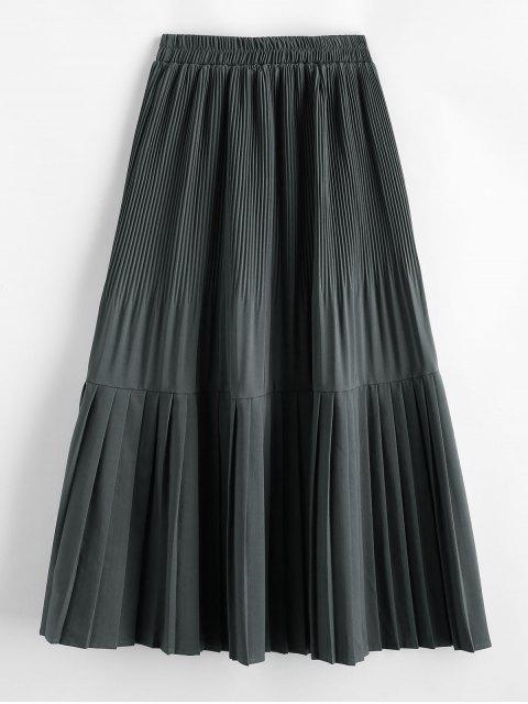Faltenrock - Grau Eine Größe Mobile