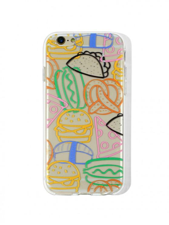 shop Hamburger TPU Phone Case For IPhone - RUBBER DUCKY YELLOW 6/6S