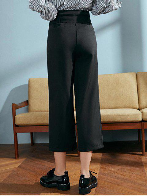 第九紙袋褲 - 黑色 M Mobile