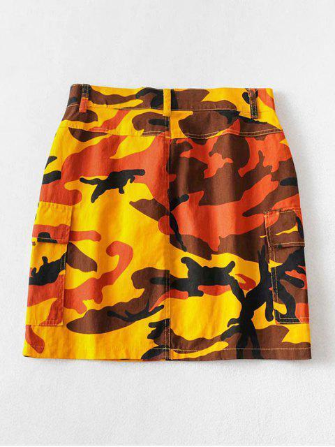 Camouflage Taschen Mini Eine Linie Rock - ACU Tarnanstrich M Mobile