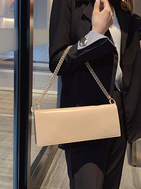 Lange solide Kette Umhängetasche - Helles Khaki  Mobile