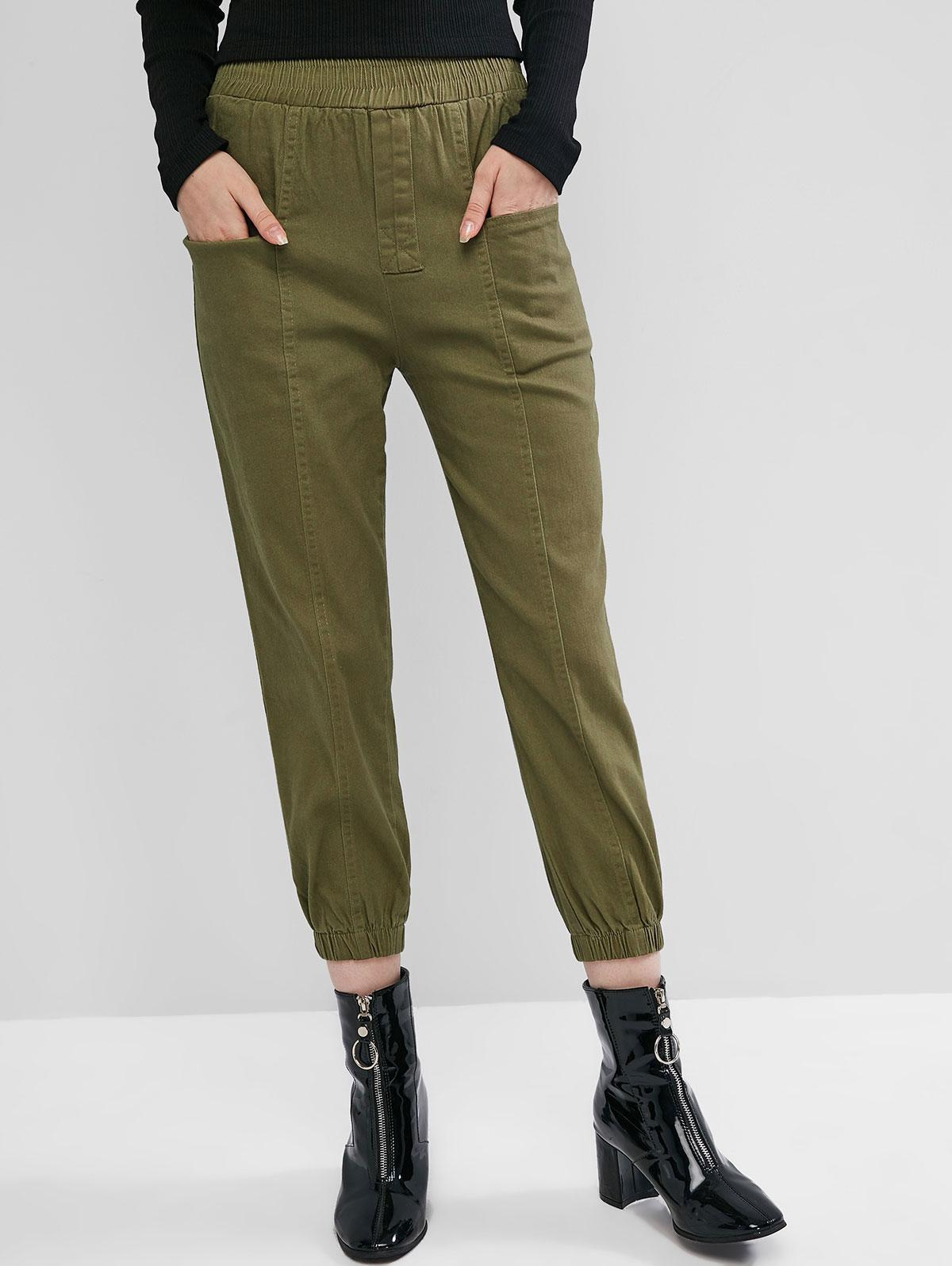 High Rise Pocket Jogger Pants