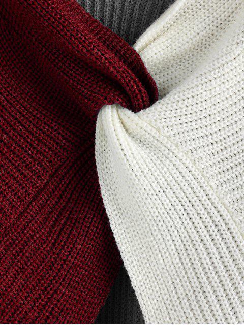 Jersey Twist de Bloqueo de Color - Multicolor-B L Mobile