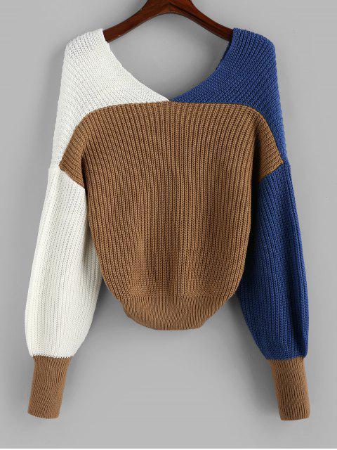 Jersey Twist de Bloqueo de Color - Multicolor-C L Mobile