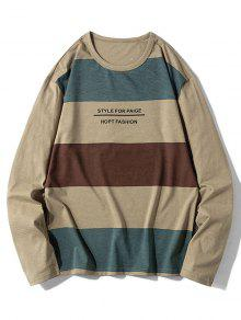 Color Spliced Sweatshirt
