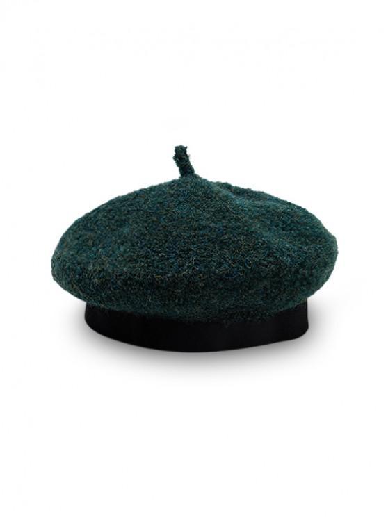 ขนแข็งจิตรกร Beret Hat - กลางทะเลสีเขียว