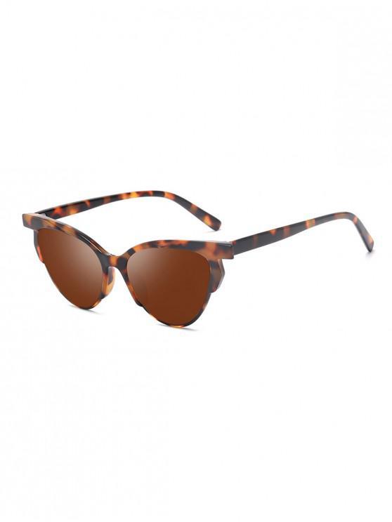 المضادة للأشعة فوق البنفسجية حقود العين النظارات الشمسية لتعليم قيادة السيارات - BROWN