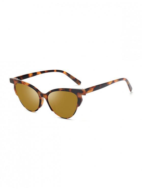 Fahren Anti UV Katze Augen Sonnenbrillen - Leopard