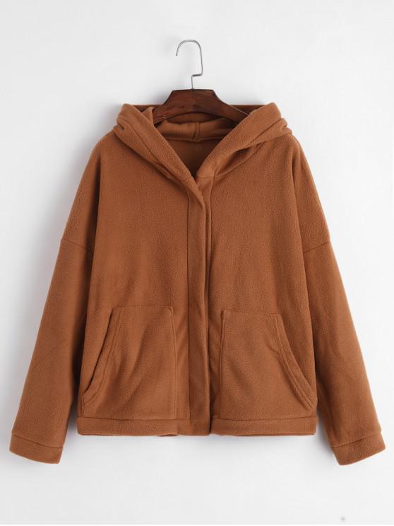 veste laine femme avec fermeture sur epaule