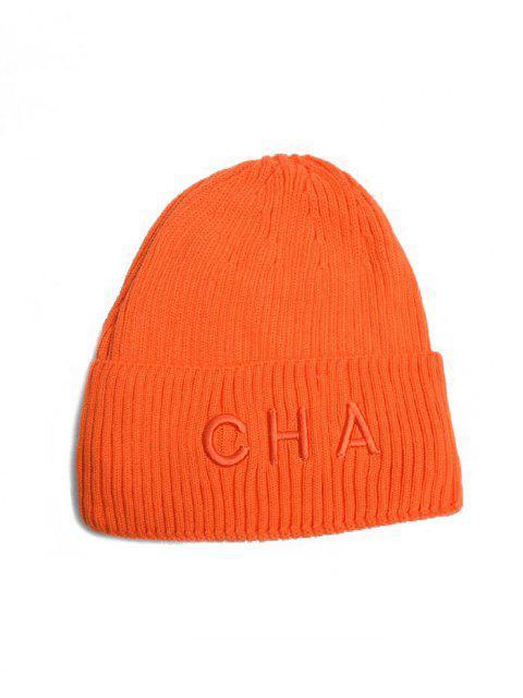 Carta Turn Up Edge punto Hat - Naranja  Mobile