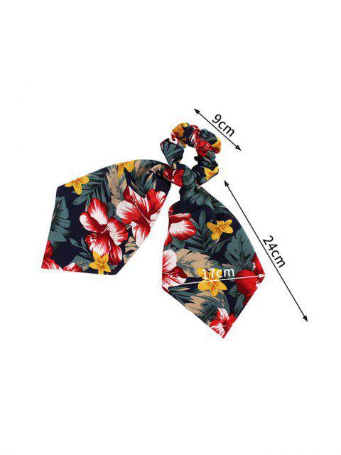 Bande de Cheveux Motif de Fleur Nœud Papillon avec Ruban - Cadetblue  Mobile