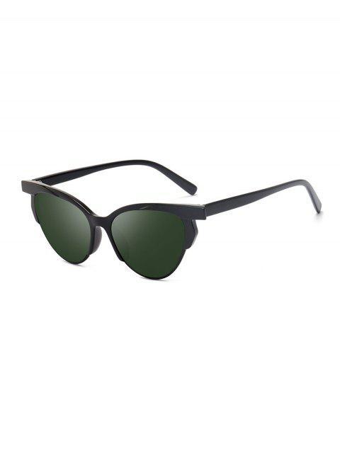 Catty contra los rayos UV de los ojos gafas de sol de conducción - Verde Oscuro  Mobile