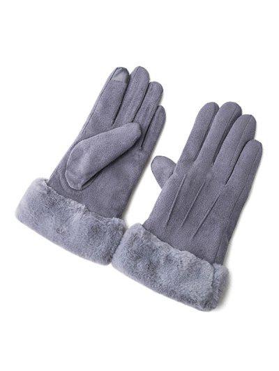 Solid Color Full Finger Gloves