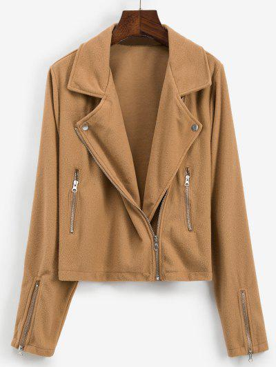 Zip Detail Jacket - from $18.41