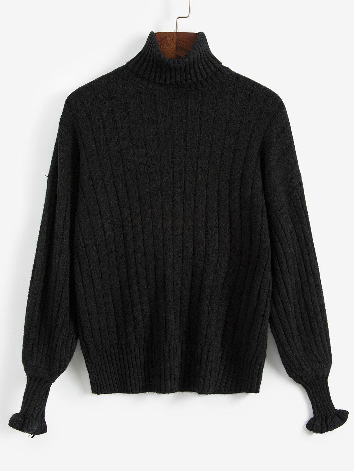Loose Turtleneck Sweater thumbnail
