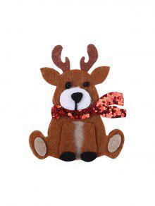 عيد الميلاد الأيل كارتون بروش - شوكولاتة