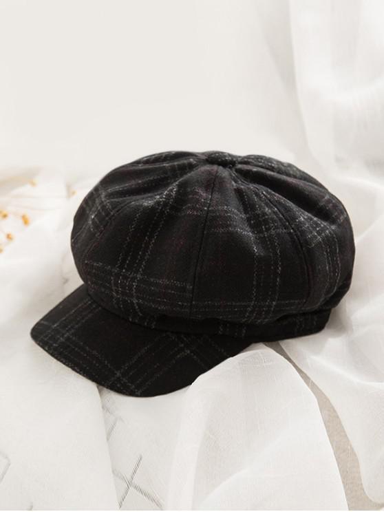 Chapeau Octogonal - Noir