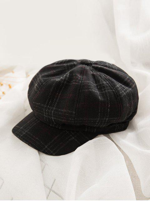 outfit Peaked Octagonal England Hat - BLACK  Mobile
