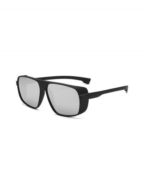 Простые Ветрозащитные Солнцезащитные Очки - Серебряный  Mobile