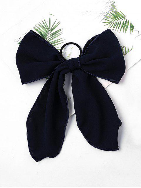 unique Chiffon Bowknot Elastic Hair Tie - CADETBLUE  Mobile