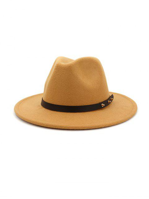 Дизайн пояса Зимняя Одноцветная Шляпа - Коричневый  Mobile
