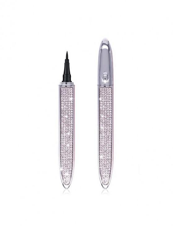 ladies Liquid Waterproof Lasting Eyeliner Pen - SILVER