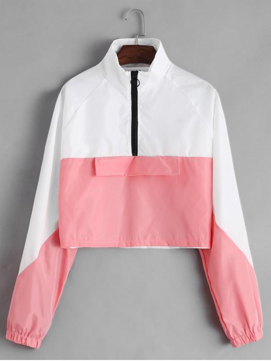 Sweat-shirt Coupe-vent ZippéBicolore - Multi-A L