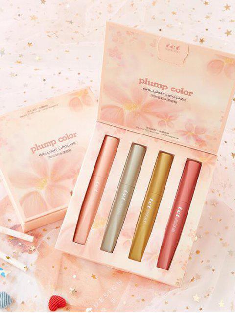 unique 4Pcs Lips Beauty Lip Glaze - MULTI-A  Mobile