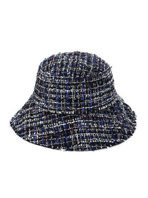 shops Winter Plaid Bucket Hat - CADETBLUE  Mobile