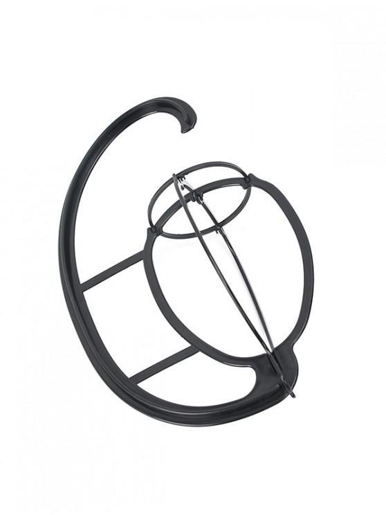 Plastic Wig Shelf - สีดำ