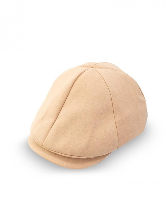 lady Peaked Casual Japanese Hat - CAMEL BROWN