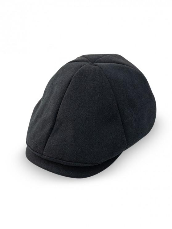 buy Peaked Casual Japanese Hat - BLACK