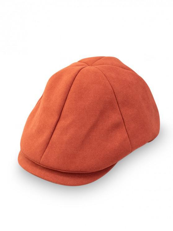 Chapeau Décontracté Style Japonais - Orange vif